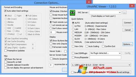 Screenshot UltraVNC para Windows 7