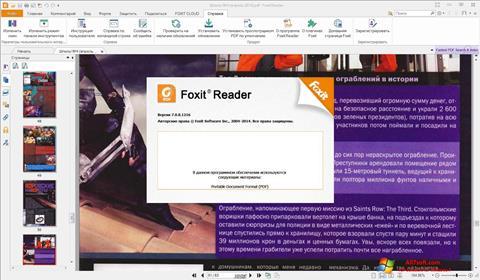 Screenshot Foxit Reader para Windows 7