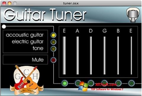 Screenshot Guitar Tuner para Windows 7