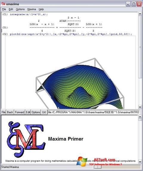 Screenshot Maxima para Windows 7