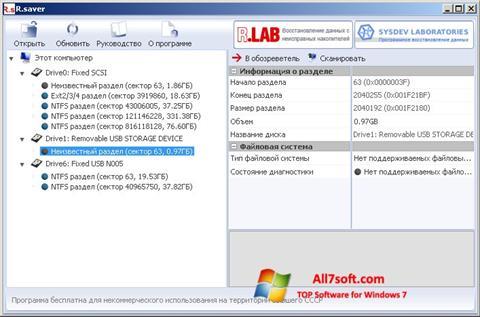 Screenshot R.saver para Windows 7