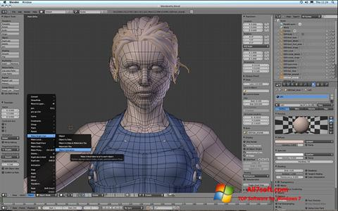 Screenshot Blender para Windows 7