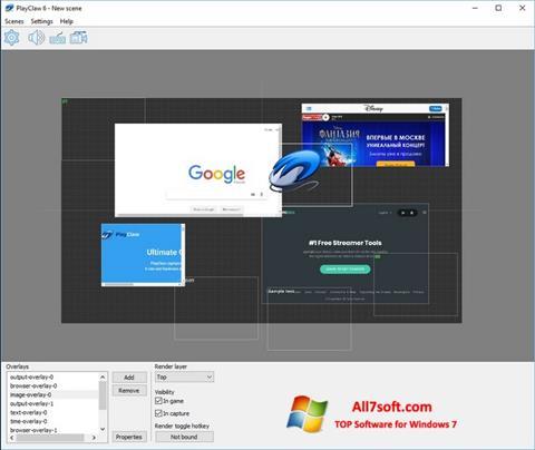 Screenshot PlayClaw para Windows 7