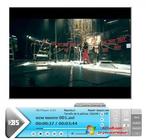 Screenshot BSPlayer para Windows 7