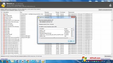 Screenshot Recuva para Windows 7