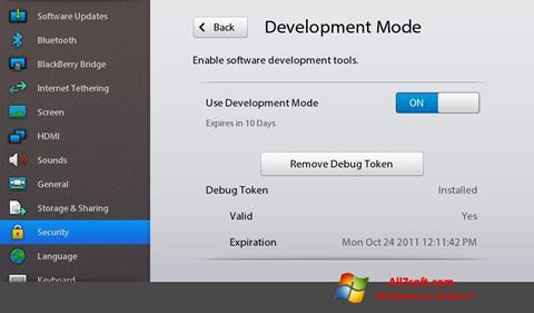 Screenshot Adobe AIR para Windows 7
