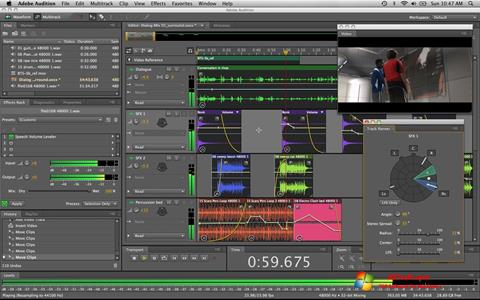 Screenshot Adobe Audition para Windows 7