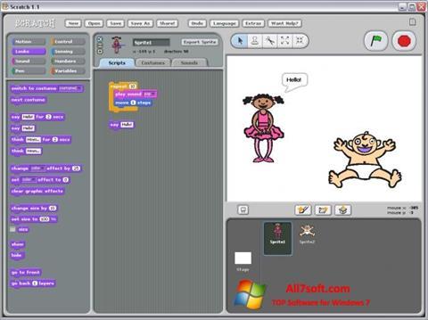 Screenshot Scratch para Windows 7
