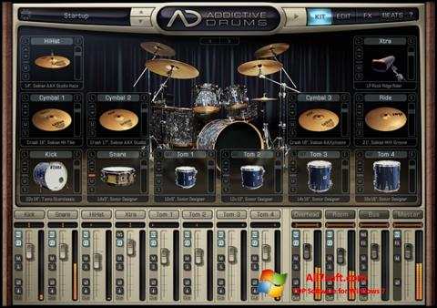 Screenshot Addictive Drums para Windows 7