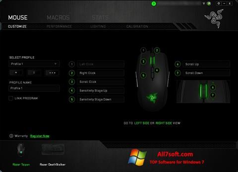 Screenshot Razer Synapse para Windows 7