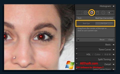 Screenshot Red Eye Remover para Windows 7