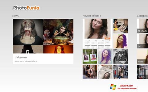 Screenshot PhotoFunia para Windows 7