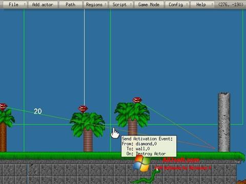 Screenshot Game Editor para Windows 7