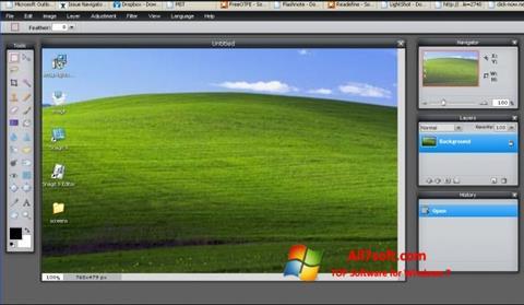 Screenshot LightShot para Windows 7