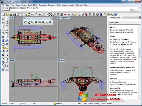 Screenshot Rhinoceros para Windows 7