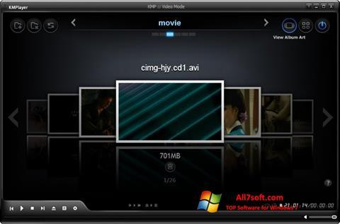 Screenshot KMPlayer para Windows 7