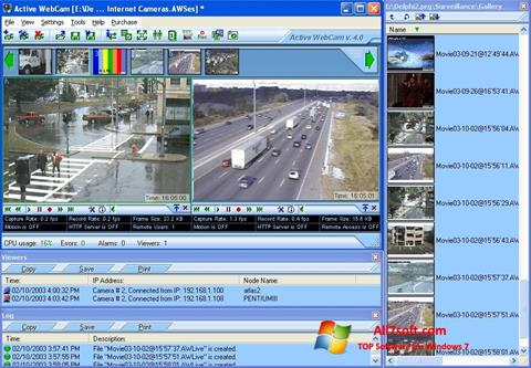 Screenshot Active WebCam para Windows 7