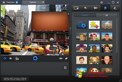 Screenshot CyberLink YouCam para Windows 7